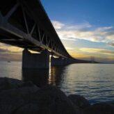 Öresundský most mezi Švédskem a Dánskem